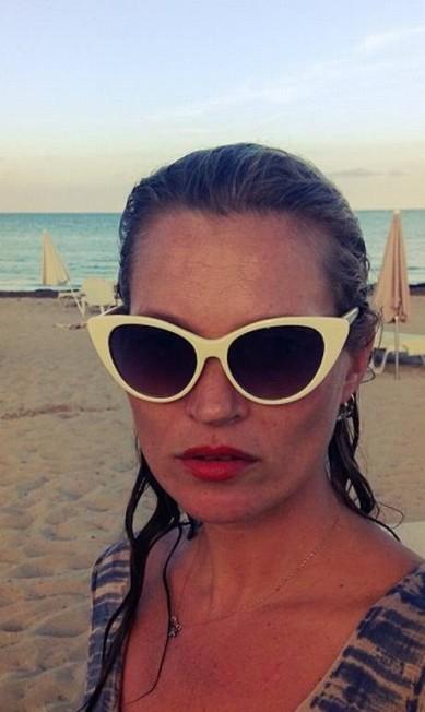 Mais um clique de Kate Moss Reprodução/ Instagram