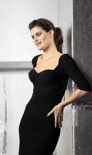Isabeli Fontana dará continuidade a parceria iniciada há duas temporadas com a grife Tufi Duek, comandada pelo estilista Eduardo Pombal Eliaria Andrade / Eliária Andrade / Agência o Globo