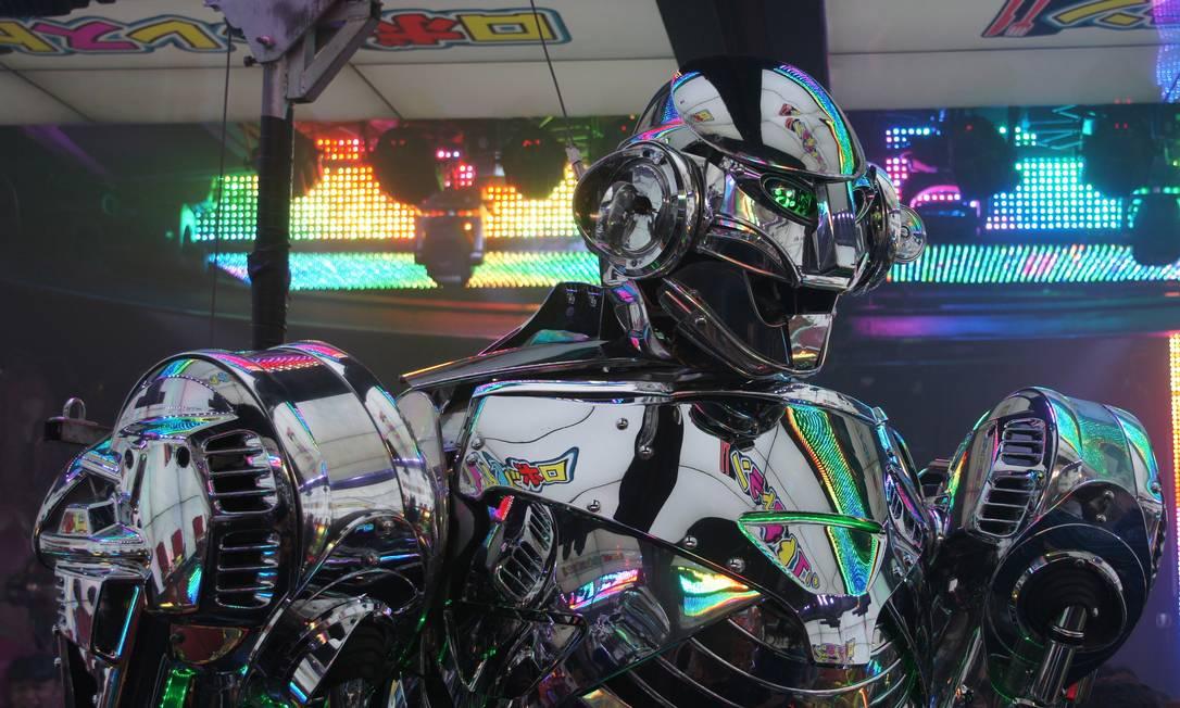 Mais da decoração do Robot Restaurant Claudia Sarmento / Agência O Globo