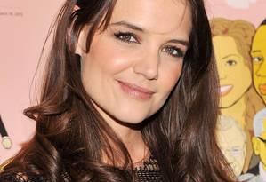 Katie Holmes: receita de beleza no Google Foto: Stephen Lovekin / AFP