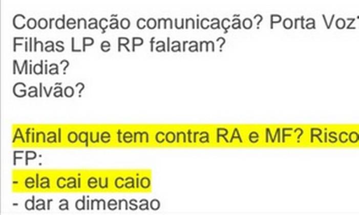 Anotações de Marcelo Odebrecht Foto: Polícia Federal / Divulgação