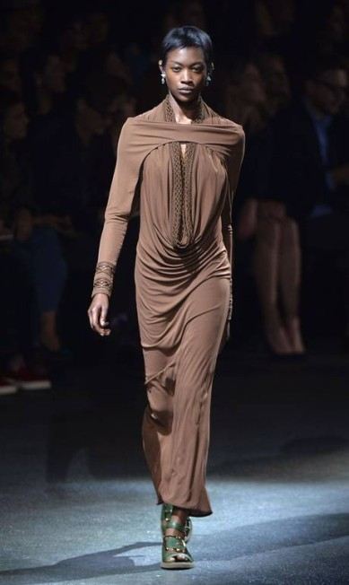 A elegância criativa da Givenchy MIGUEL MEDINA / AFP