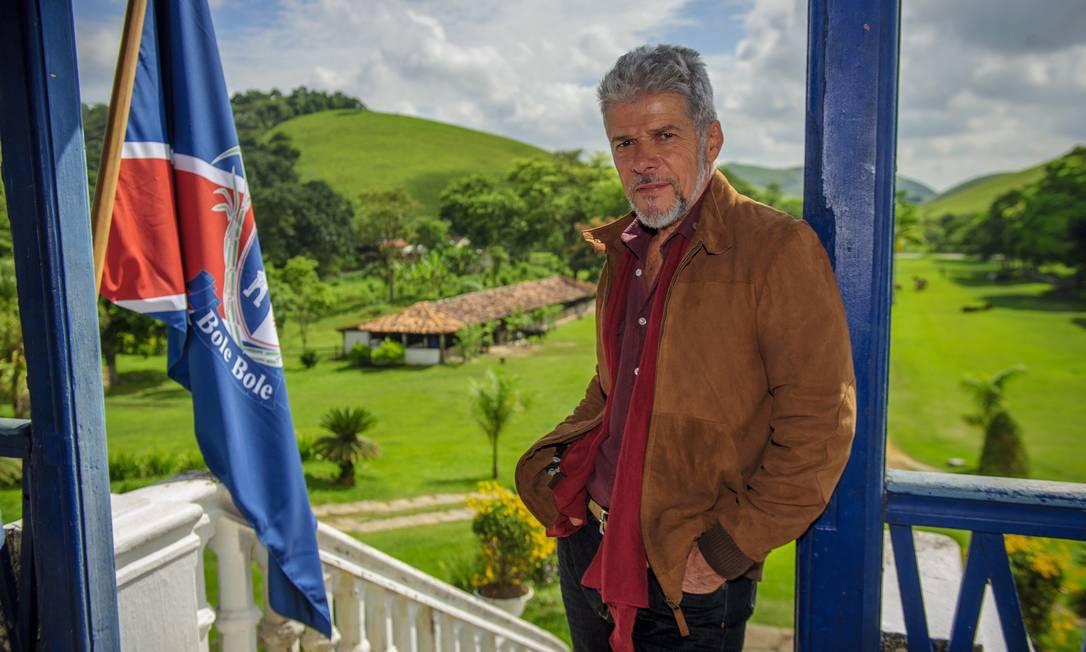 José Mayer: um dos maiores galãs da TV brasileira, o ator, que tem fama de pegador, comemora 64 anos na quinta-feira Terceiro / Divulgação