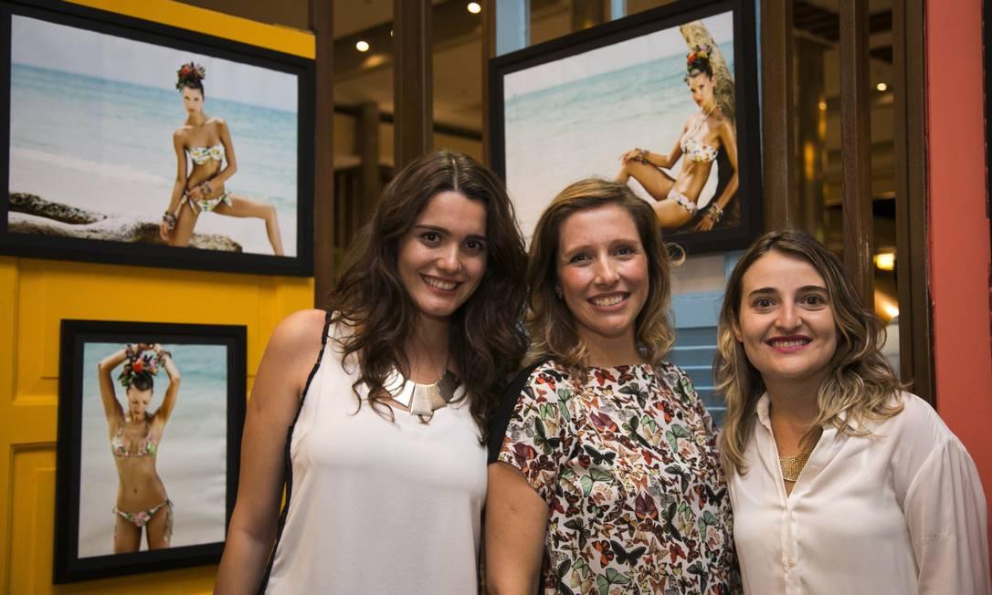 Parte da equipe do ELA: Fernanda Baldioti, Melina Dalboni e Talita Duvanel Paula Giolito / Agência O Globo