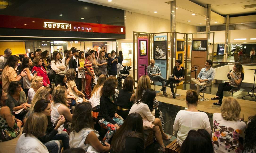 Vini, Bebel e Melina abordaram ainda as tendências de moda e beleza para o verão 2013/2014 que puderam ser vistas nas fotos Paula Giolito / Agência O Globo