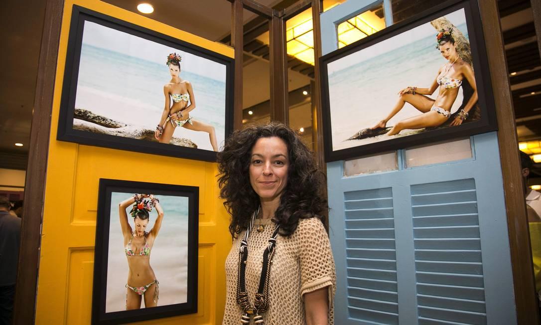 A designer de acessórios Claudia Savelli Paula Giolito / Agência O Globo