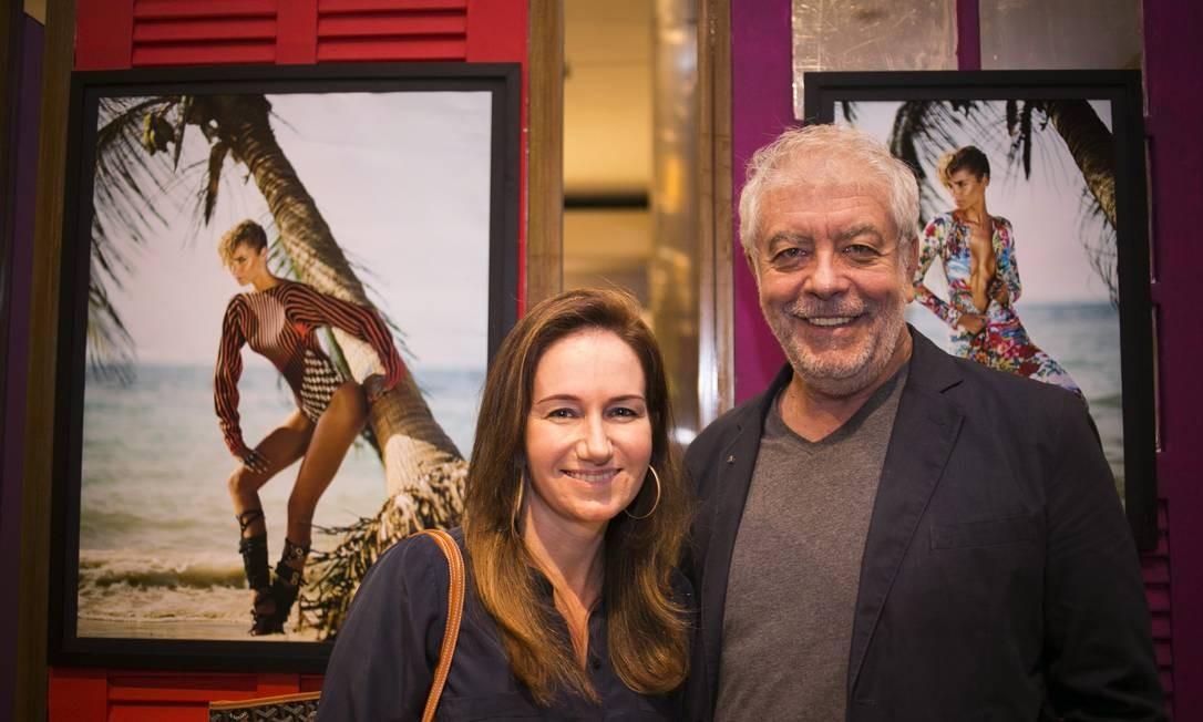 O evento reuniu importantes nomes da moda como Daniela Fiszpan e Antonio Bernardo Paula Giolito / Agência O Globo
