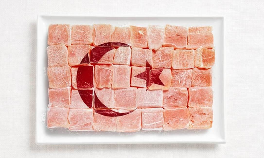A da Turquia é doce: feita de Lokum, uma sobremesa turca feita de maisena e açúcar Divulgação / WHYBIN\TBWA