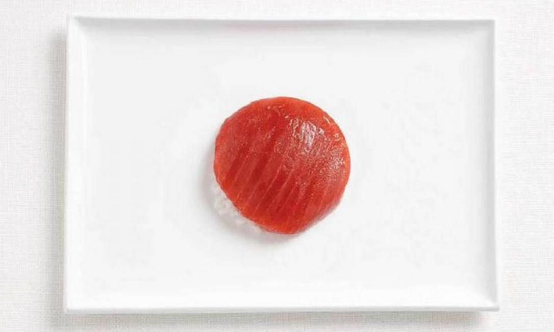 Um sushi de atum virou o símbolo do Japão Divulgação / WHYBIN\TBWA