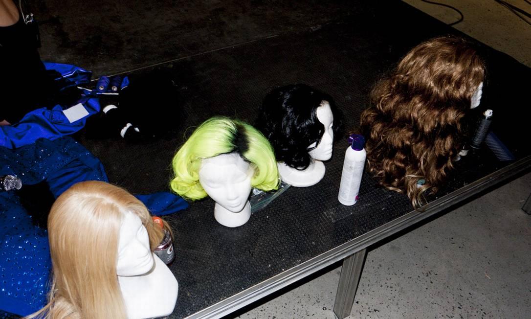 As perucas de Gaga Reprodução/ Tumblr