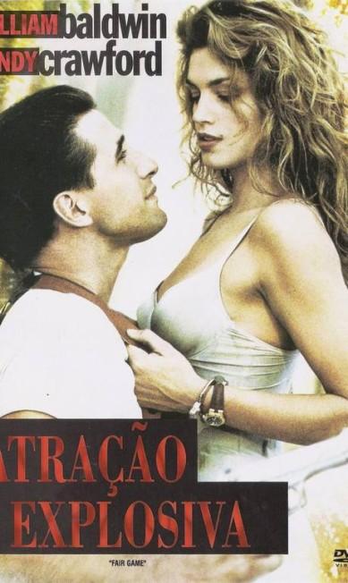"""Ícone dos anos 1990, a modelo americana Cindy Crawford também marcou seu nome no cinema. Entretanto, os filmes """"Studio 54"""" e """"Atração explosiva"""" não se eternizaram como as campanhas das marcas Versace, Escada e Revlon estreladas pela top Divulgação"""