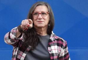 Laerte: 'Sou uma mulher experimental', diz ele Foto: Eliária Andrade / Agência O Globo