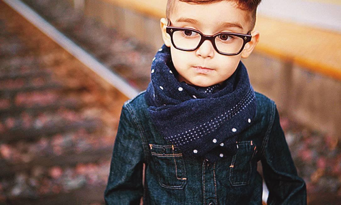 Personalidade. Alonso Mateo, de 5 anos, tem seus looks postados todos os dias no Instagram Terceiro / Reproduções