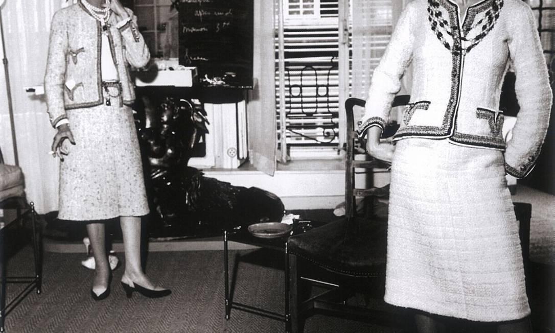 """Chanel aceitava excessos nas casa, mas não na roupa: """"Não é das casas que eu gosto, é da vida que vivo nelas"""" Reprodução de livro"""