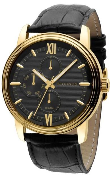 Executivo: Relógio Technos. R$ 560 na Elister Jóias: BarraShopping, segundo piso (21 2431-9235) Terceiro / Divulgação