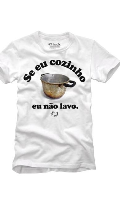 Gourmet: Camiseta da Huck. R$ 69. À venda no site www.usehuck.com.br Terceiro / Divulgação
