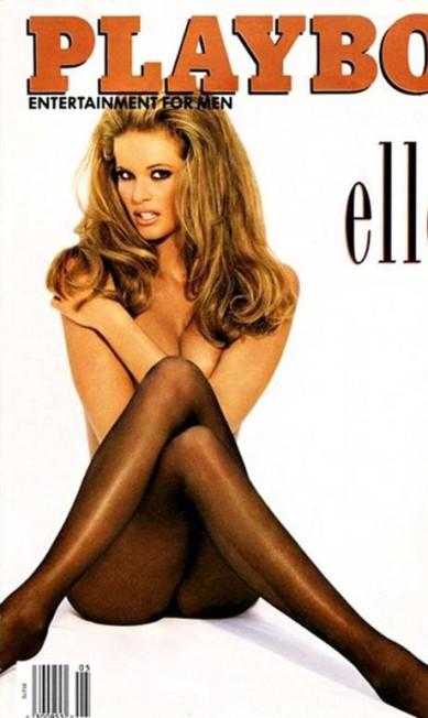 """Em 1994, a modelo australiana conhecida como o """"The Body"""" (""""O Corpo""""), Elle Macpherson, posou nua para provar que o título lhe cabia perfeitamente bem Reprodução / Playboy"""