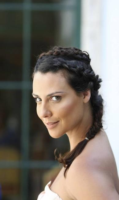 Camila Rodrigues e suas tranças no Fashion Rio Alexandre Cassiano / Agência O Globo