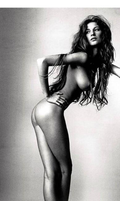 Irving Penn fotografou Gisele nua quando a modelo tinha apenas 18 anos Reprodução/ Irving Penn