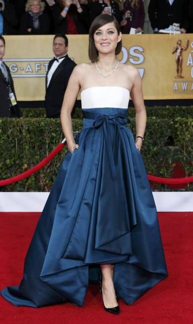 """Uma das mais perfeitas junções entre beleza e talento, Marion Cotillard é musa do cinema atual francês. Seu papel no filme """"Piaf - Um Hino ao Amor"""" lhe rendeu o Oscar de melhor atriz em 2008 ADREES LATIF / REUTERS"""