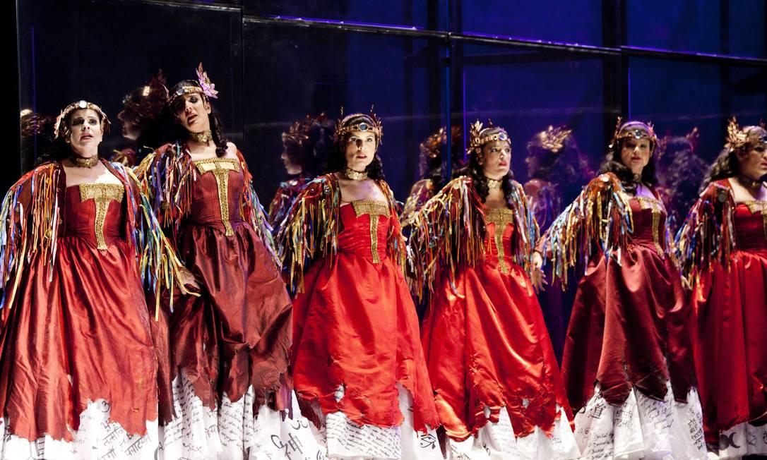 A ópera estreia no domingo, dia 14, no Theatro Municipal do Rio de Janeiro Ana Branco / Agência O Globo