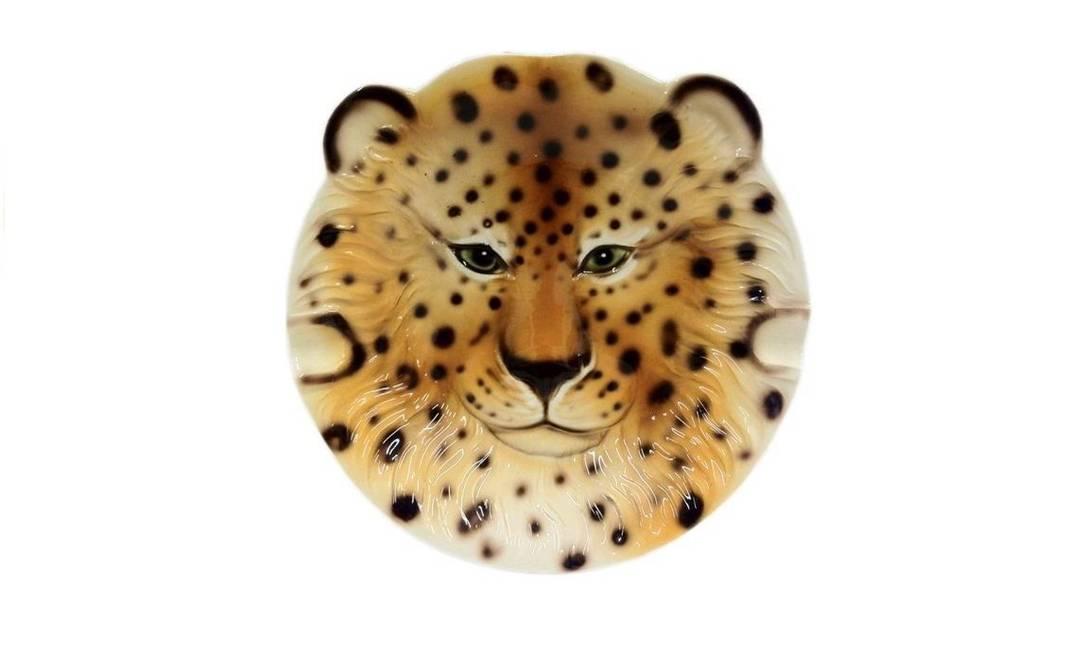 Cinzeiro Leopardo na Tutto Per La Casa, R$ 142 (Shopping Leblon, 3º piso) Terceiro / Divulgação