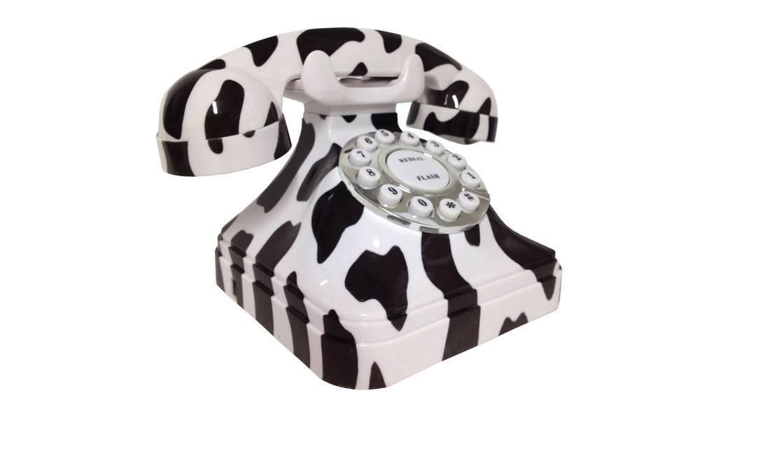 Telefone vintage da Penselar Fun, R$ 149,90 (Rua Humaitá 109) Terceiro / Divulgação