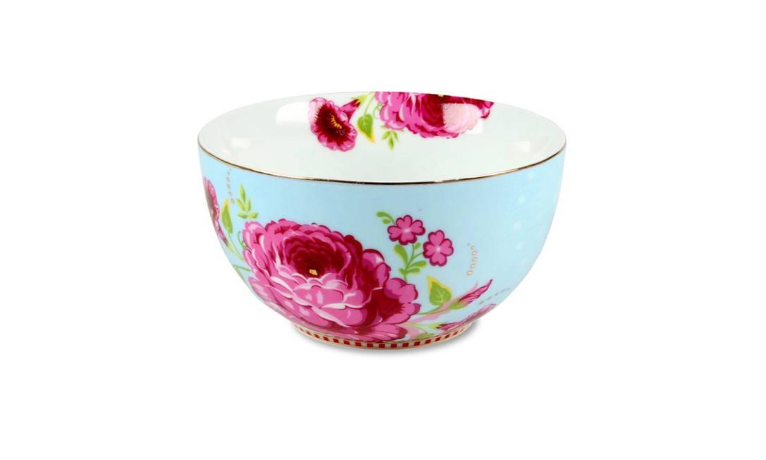Bowl estampado Maria Filó Home, R$ 239 (Shopping Leblon, 1º piso) Terceiro / Divulgação