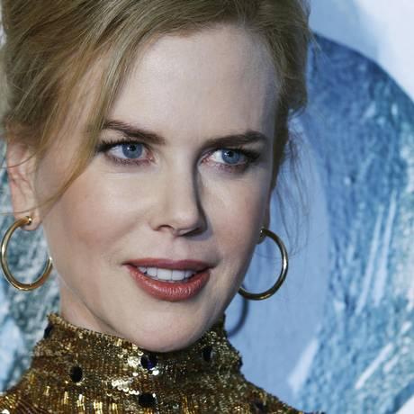 Nicole Kidman: linhas da testa apagadas Foto: LUKE MACGREGOR / Reuters