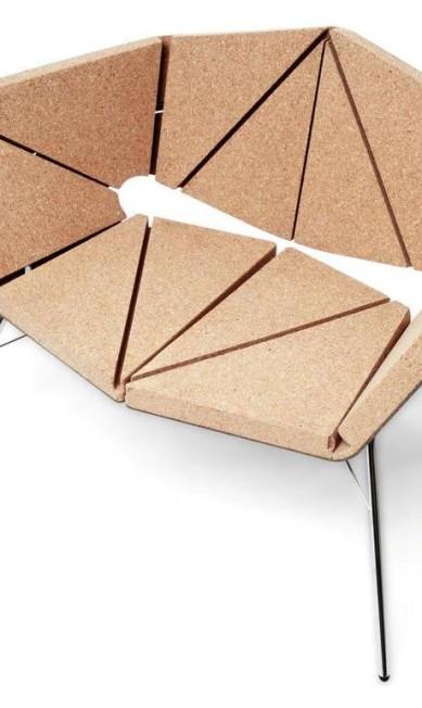Poltrona da Corque Design (R$ 9.450 na Clark Design) Terceiro / Divulgação