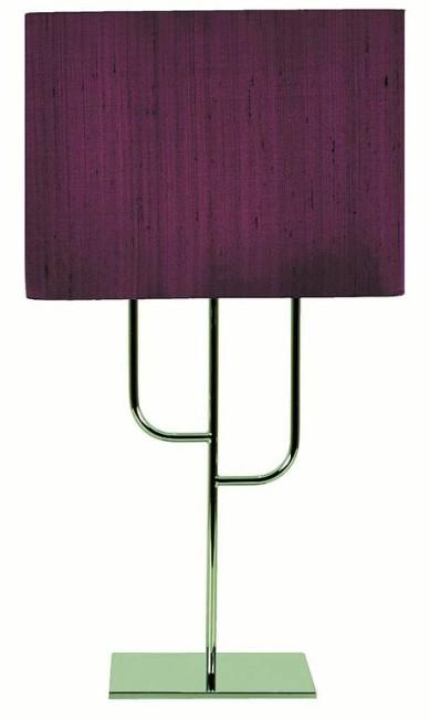 O abajur mandacaru de seda roxa, na Prolight (Tel.: 21 2511-1740). De R$ 2.558 por R$ 1.400 Terceiro / Divulgação