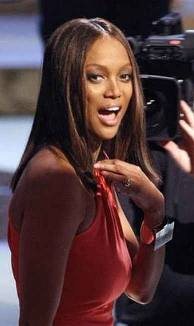 """A modelo e apresentadora Tyra Banks não deve ter visitado o Sea World, famoso parque aquático americano, na infância. Quando pequena, ela morria de medo de mamíferos marinhos. Hoje a fobia já é menor, mas ela garante que ainda existe. """"O medo não acabou. Passou um pouco, mas ainda existe algo dentro de mim"""", ela confessou REUTERS"""