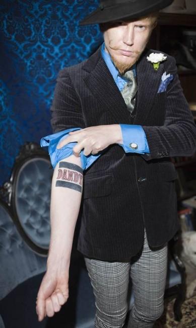 Doran Wittelsbach exibe sua tatuagem em São Francisco, 2009 Rose Callahan Photography / Divulgação