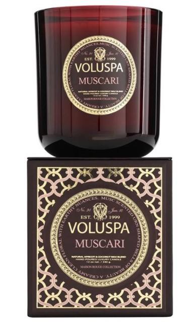 Velas aromáticas com potinho de vidro da marca Voluspa, à venda na Elle te Lui Home (www.elleetlui.com.br/home) Divulgação
