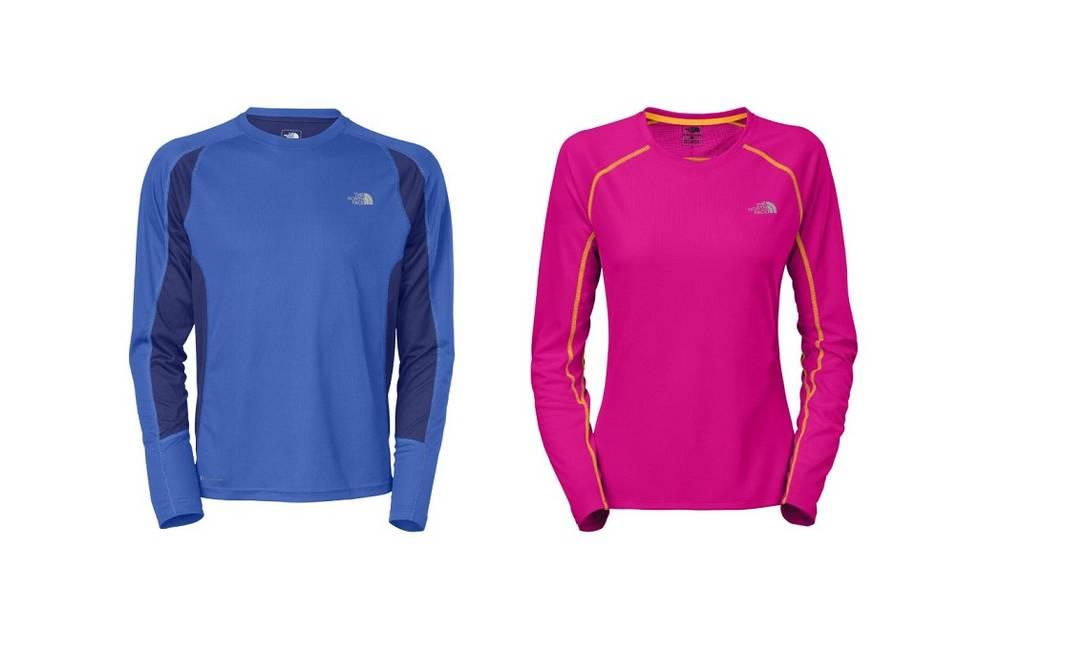 Para os namorados esportistas, blusas North Face para o casal (Tel.: 21 3138-8229). Ambas por R$ 167 Divulgação