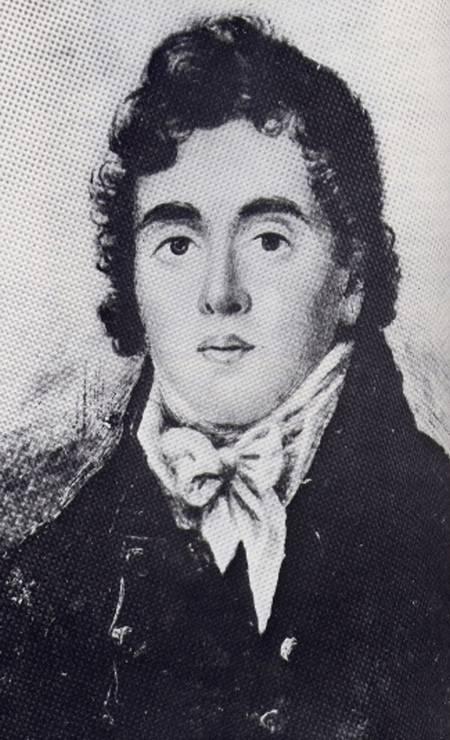 Beau Brummell em 1815. Figura proeminente durante a Regência Britânica, ele é identificado como o primeiro a instituir o estilo de vida dos dândis Foto: Reprodução