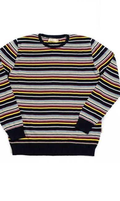 Camisa de tricô listrada - R$ 239 na Foxton Divulgação