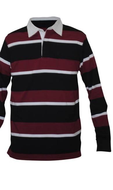Camisa polo listrada - R$ 69,90 na Fernatti (Rua do Lavradio, 76. Centro - Rio de Janeiro. Tel.: 213852-1189) Divulgação