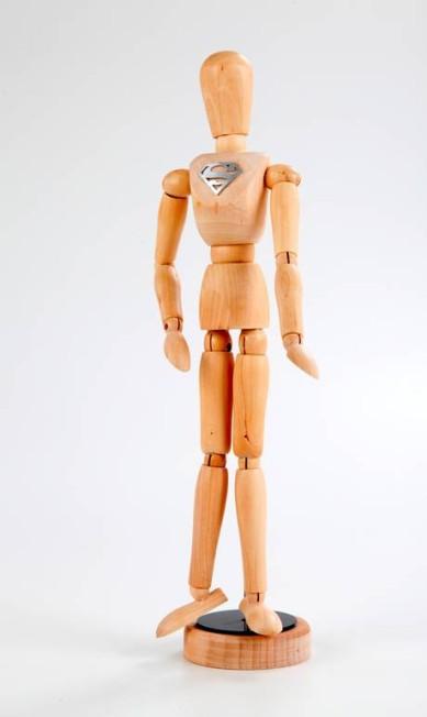 Boneco Super-Homem - R$ 170 na Projeto de Gente no CasaShopping (Av. das Américas, 7.935, loja 113 – Barra da Tijuca.Tel.: 21 2127-6538/6574) Divulgação
