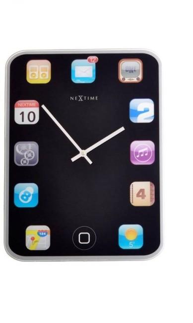Relógio de parede iPhone - R$ 560 na Rosa Kochen CasaShopping (Av. Ayrton Senna, 2.150. Bloco D, loja I – Barra da Tijuca, Rio de Janeiro.Tel.: 21 3411-0551) Divulgação