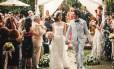 Bolinhas de sabão no lugar da chuva de arroz: tendência no mundo dos casamentos