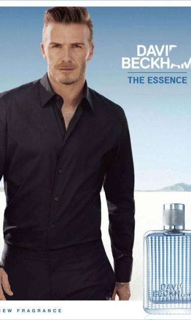 Em 2012, para a sua própria fragrância, David Beckham The Essence Divulgação