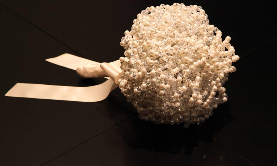 Buquê de pérolas Patrícia Vergara (21 2610-2576), a partir de R$ 700 Divulgação / Alexandre Macedo