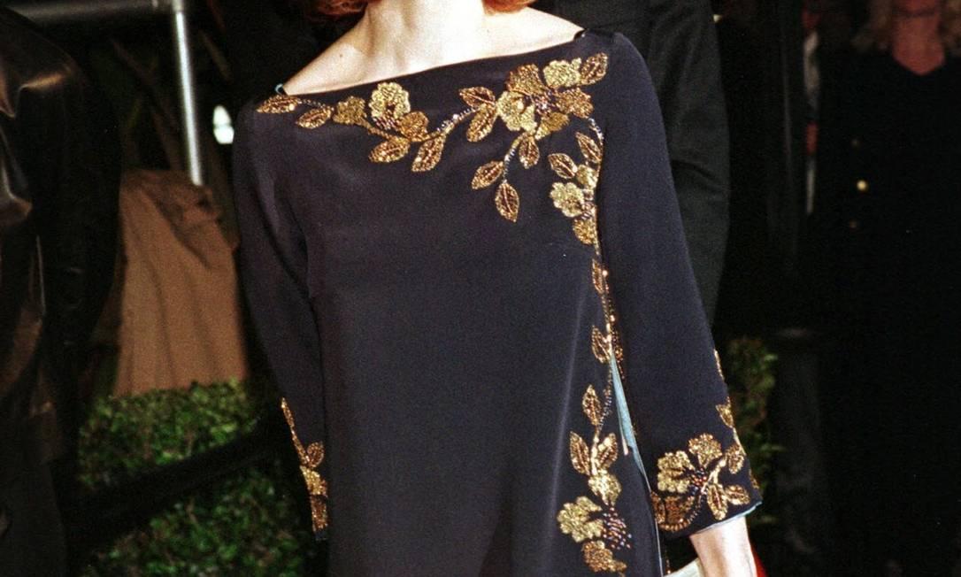Em 1999, os fios da estrela ganharam um tom meio avermelhado Jill Connelly / Reuters