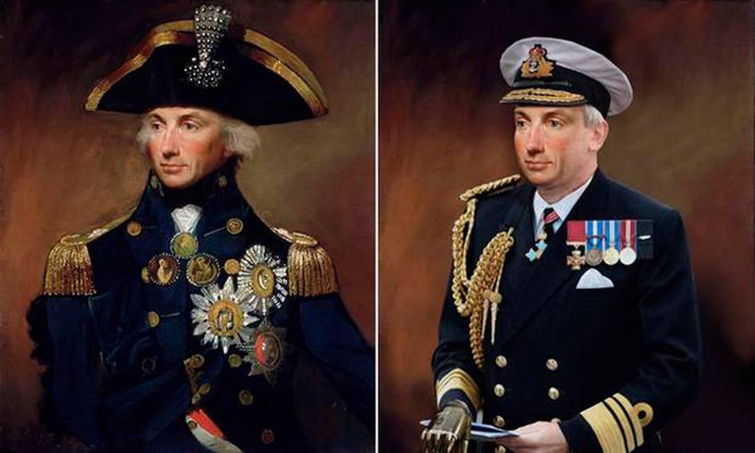 Sempre profissional, o almirante Nelson, oficial britânico das guerras Napoleônicas, não abandonaria o uniforme da Marinha. Sem tantos conflitos nos dias de hoje, o militar acabaria engordando ao ficar preso a funções administrativas. A sua maior mudança seria a adoção de uma prótese para a mão, perdida durante uma batalha. Foto: Reprodução