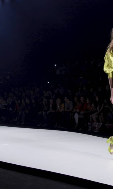 EL Rio de Janeiro (RJ) 18/04/2013 Fashion Rio Verão 2013/2014 - Desfile Coca Cola Clothing - Foto Laura Marques / Agência O Globo Laura Marques / Agência O Globo