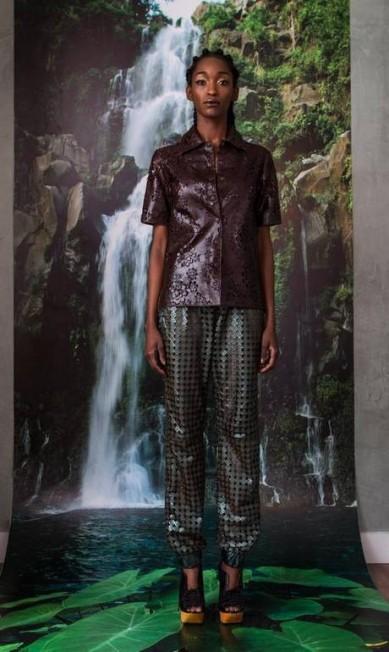 Patricia Vieira: a estilista apresentou a coleção para o verão 2014 em sua loja no Leblon, durante o Fashion Rio Agência O Globo / Agência O Globo