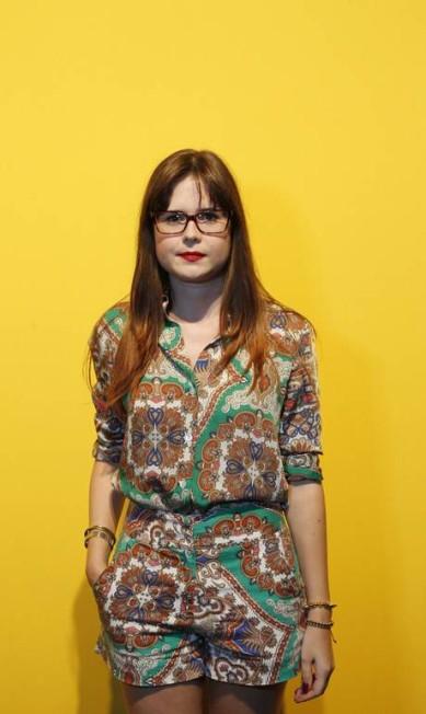 Já a estudante de moda Thais Rosa, de 24 anos, optou por usar short e blusa da mesma estampa, mas com tecidos diferentes. As peças são da Farm Guito Moreto / Agência O Globo