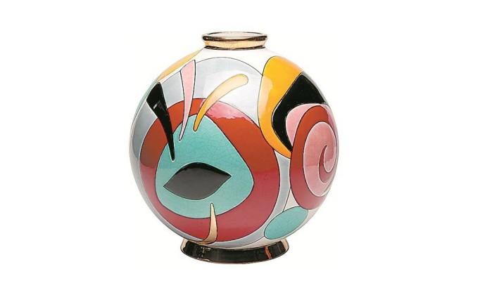 Vaso Emaux - R$ 5.940 na H.Stern Home (www.hsternhome.com.br) Terceiro / Divulgação