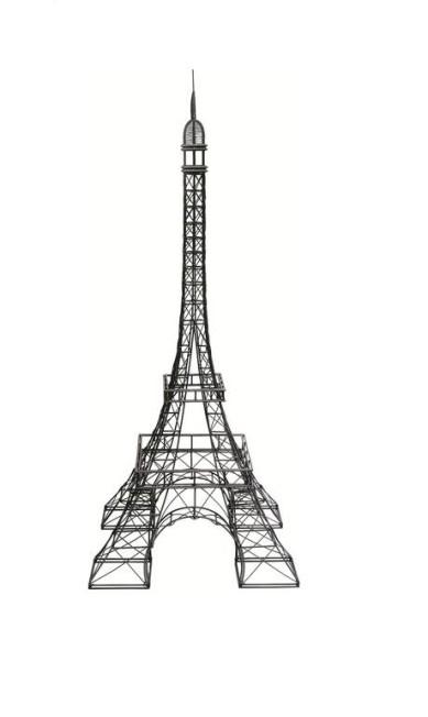 Torre Eiffel de ferro - R$ 5.722 na Secrets de Famille (www.secretsdefamille.com.br) Terceiro / Divulgação